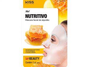 Máscara Facial de Algodão Mel Kiss - 20ml